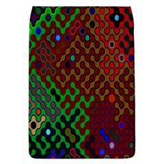 Psychedelic Abstract Swirl Flap Covers (L)