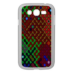 Psychedelic Abstract Swirl Samsung Galaxy Grand Duos I9082 Case (white)