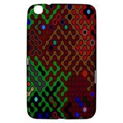 Psychedelic Abstract Swirl Samsung Galaxy Tab 3 (8 ) T3100 Hardshell Case