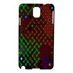 Psychedelic Abstract Swirl Samsung Galaxy Note 3 N9005 Hardshell Case