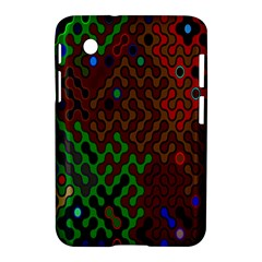 Psychedelic Abstract Swirl Samsung Galaxy Tab 2 (7 ) P3100 Hardshell Case