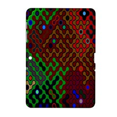Psychedelic Abstract Swirl Samsung Galaxy Tab 2 (10 1 ) P5100 Hardshell Case
