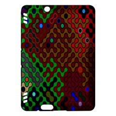 Psychedelic Abstract Swirl Kindle Fire Hdx Hardshell Case