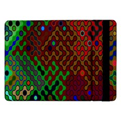 Psychedelic Abstract Swirl Samsung Galaxy Tab Pro 12.2  Flip Case