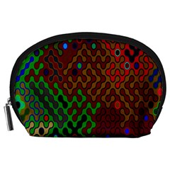 Psychedelic Abstract Swirl Accessory Pouches (large)