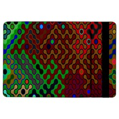 Psychedelic Abstract Swirl iPad Air 2 Flip