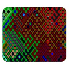 Psychedelic Abstract Swirl Double Sided Flano Blanket (small)