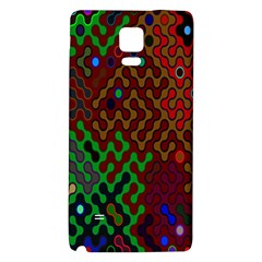 Psychedelic Abstract Swirl Galaxy Note 4 Back Case