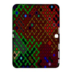 Psychedelic Abstract Swirl Samsung Galaxy Tab 4 (10.1 ) Hardshell Case