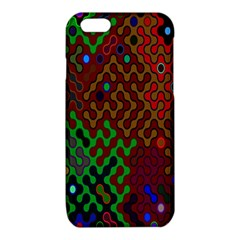 Psychedelic Abstract Swirl iPhone 6/6S TPU Case