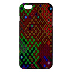 Psychedelic Abstract Swirl Iphone 6 Plus/6s Plus Tpu Case