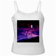 Purple Sky Ladies Camisoles