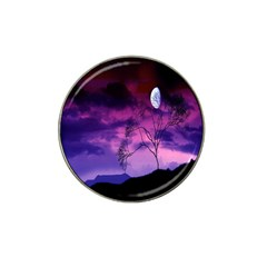Purple Sky Hat Clip Ball Marker (4 Pack)