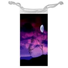 Purple Sky Jewelry Bag