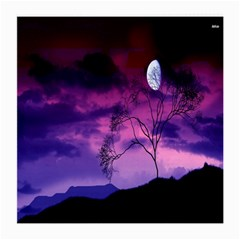 Purple Sky Medium Glasses Cloth