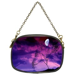 Purple Sky Chain Purses (Two Sides)