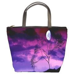 Purple Sky Bucket Bags