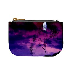 Purple Sky Mini Coin Purses