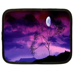 Purple Sky Netbook Case (XXL)
