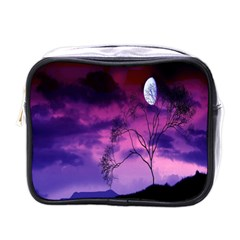 Purple Sky Mini Toiletries Bags