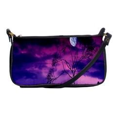Purple Sky Shoulder Clutch Bags