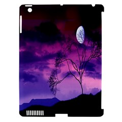 Purple Sky Apple Ipad 3/4 Hardshell Case (compatible With Smart Cover)