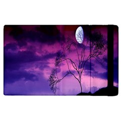 Purple Sky Apple iPad 3/4 Flip Case