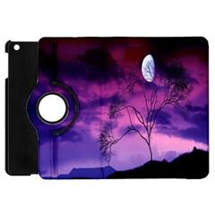 Purple Sky Apple Ipad Mini Flip 360 Case