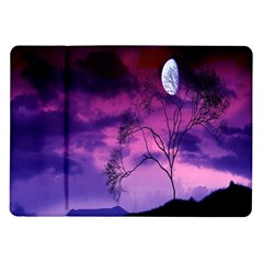 Purple Sky Samsung Galaxy Tab 10 1  P7500 Flip Case