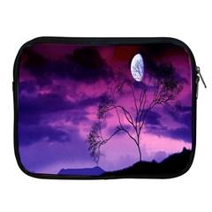 Purple Sky Apple iPad 2/3/4 Zipper Cases