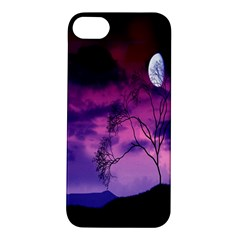 Purple Sky Apple Iphone 5s/ Se Hardshell Case