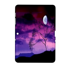Purple Sky Samsung Galaxy Tab 2 (10 1 ) P5100 Hardshell Case