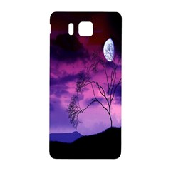 Purple Sky Samsung Galaxy Alpha Hardshell Back Case