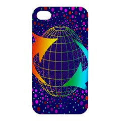 Recycling Arrows Circuit Apple Iphone 4/4s Hardshell Case