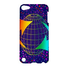 Recycling Arrows Circuit Apple Ipod Touch 5 Hardshell Case
