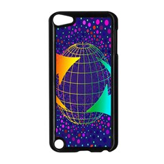 Recycling Arrows Circuit Apple iPod Touch 5 Case (Black)