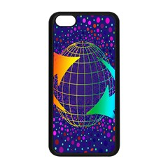 Recycling Arrows Circuit Apple Iphone 5c Seamless Case (black)
