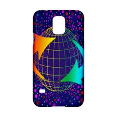 Recycling Arrows Circuit Samsung Galaxy S5 Hardshell Case