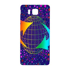 Recycling Arrows Circuit Samsung Galaxy Alpha Hardshell Back Case