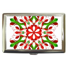 Red And Green Snowflake Cigarette Money Cases