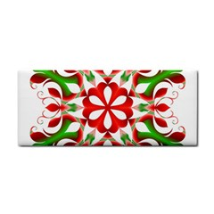 Red And Green Snowflake Cosmetic Storage Cases