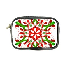 Red And Green Snowflake Coin Purse