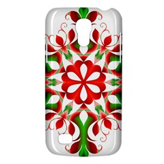 Red And Green Snowflake Galaxy S4 Mini