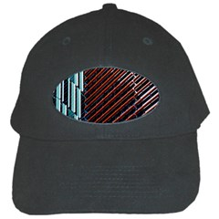 Red And Black High Rise Building Black Cap