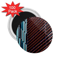 Red And Black High Rise Building 2 25  Magnets (100 Pack)