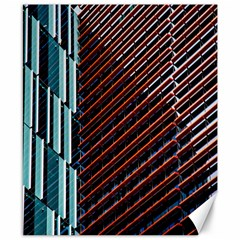 Red And Black High Rise Building Canvas 8  x 10