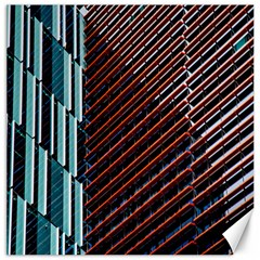 Red And Black High Rise Building Canvas 20  X 20