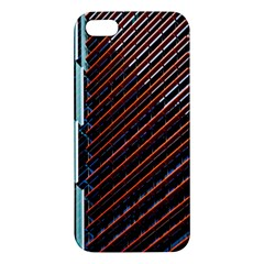 Red And Black High Rise Building Apple iPhone 5 Premium Hardshell Case