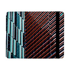 Red And Black High Rise Building Samsung Galaxy Tab Pro 8 4  Flip Case