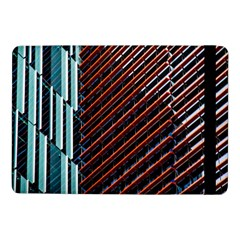 Red And Black High Rise Building Samsung Galaxy Tab Pro 10 1  Flip Case